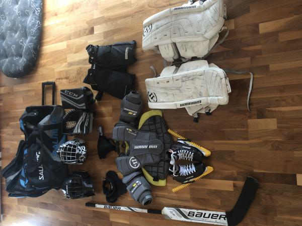 Hokejová brankářská výstroj